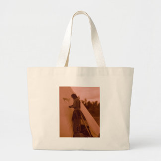 Painting the Sign of His Medicine Jumbo Tote Bag