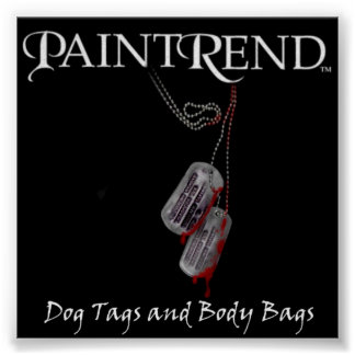 PAINTREND Dog Tags POSTER