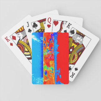 Paintstick Artist Playing Card