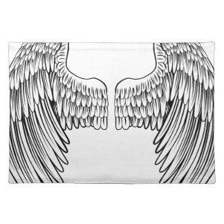 Pair of Angel or Eagle Wings Placemat
