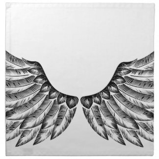 Pair of Bird Wings Napkin
