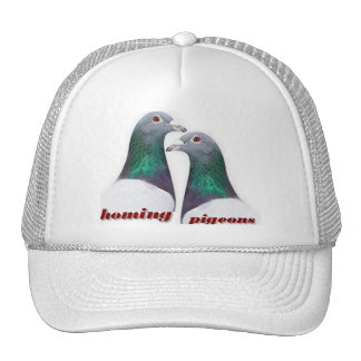 Pair of carrier pigeons cap