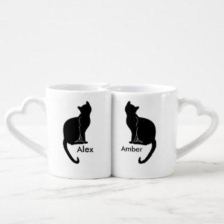 Pair of cats love mug