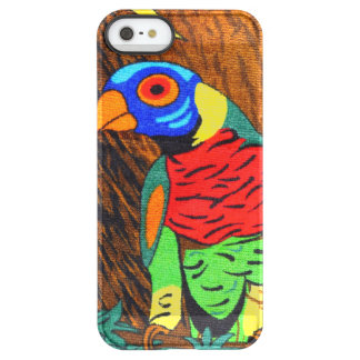 Pair of Colorful Parakeets Permafrost® iPhone SE/5/5s Case