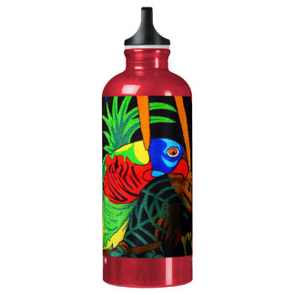 Pair of Colorful Parakeets SIGG Traveller 0.6L Water Bottle