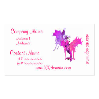 Pair of Dragon Business Cards