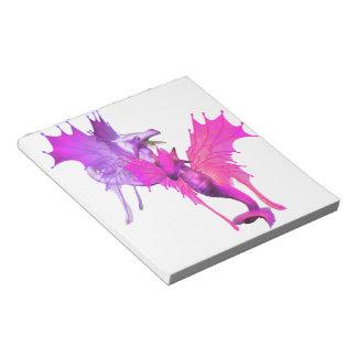 Pair of Dragons Notepad