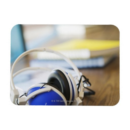 Pair of Headphones Vinyl Magnets