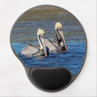 Pair of Pelicans Gel Mouse Pad