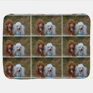 Pair of Poodles Pramblankets