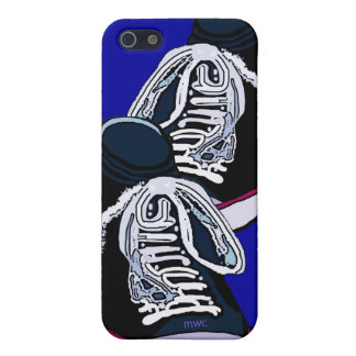 Pair Of Sneakers Blue iPhone 5/5S Case