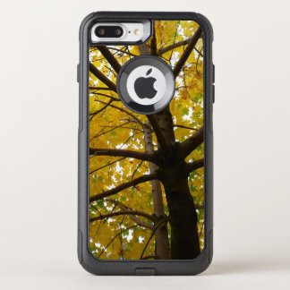 Pair of Yellow Maple Trees Autumn Nature OtterBox Commuter iPhone 8 Plus/7 Plus Case