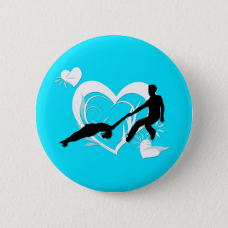 Pairs Figure Skating Button