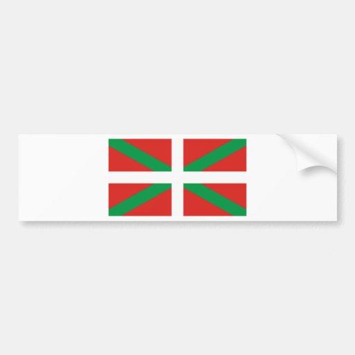 Pais Vasco (Spain) Flag Bumper Stickers