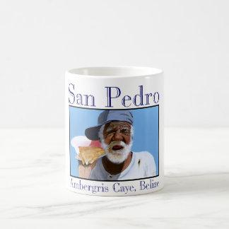 """Paisano on his shell phone"" Coffee Mug"