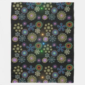 Paisley 3 fleece blanket