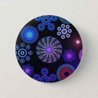 Paisley 6 Cm Round Badge