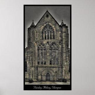 Paisley Abbey, Glasgow, Scotland Poster