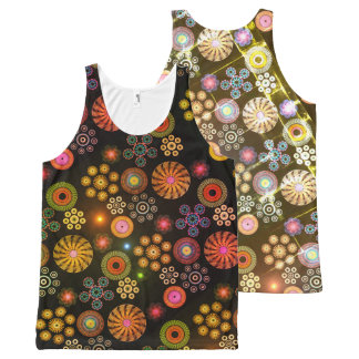 Paisley All-Over Print Singlet