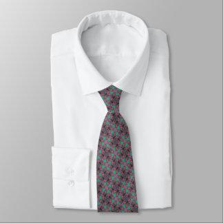 Paisley Boomerang Fractal Tie