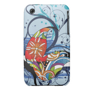 Paisley Butterfly iPhone 3 Cases
