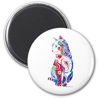 Paisley Cat Designs Magnet