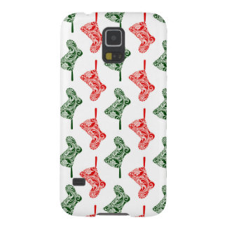 Paisley Christmas Stockings Cases For Galaxy S5