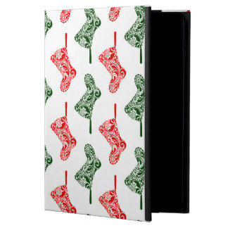 Paisley Christmas Stockings Cover For iPad Air