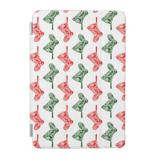 Paisley Christmas Stockings iPad Mini Cover