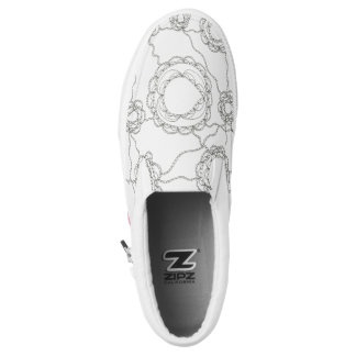Paisley Color It Yourself Slip On Shoes