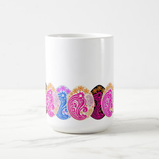 Paisley Decorated Eggs Coffee Mug