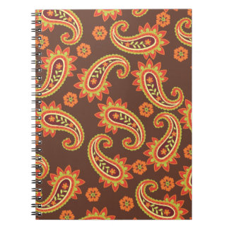 Paisley Delight Chic Notebook