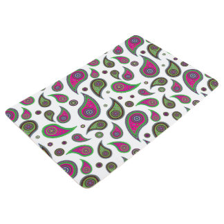Paisley Design Floor Mat