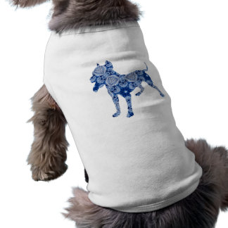 Paisley Dog No. 1 | Blue | Doggie Shirt