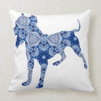 Paisley Dog No. 1 | Pillow