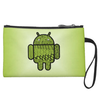 Paisley Doodle Character for Android™ Wristlet