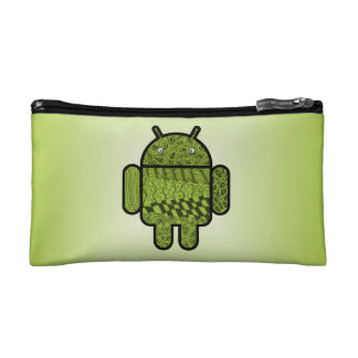 Paisley Doodle Character for Android™ Makeup Bags