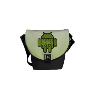 Paisley Doodle Character for Android™ Messenger Bags