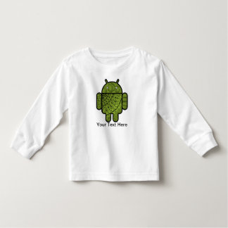 Paisley Doodle Character for the Android™ robot T Shirt