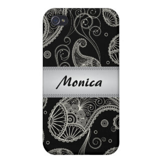 Paisley Dreams Personalized iPhone4 Case iPhone 4/4S Covers