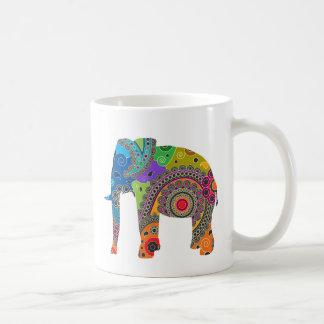 Paisley Elephant Mug