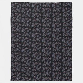 Paisley Fleece Blanket