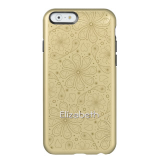 Paisley Floral Hearts Pattern Incipio Feather® Shine iPhone 6 Case