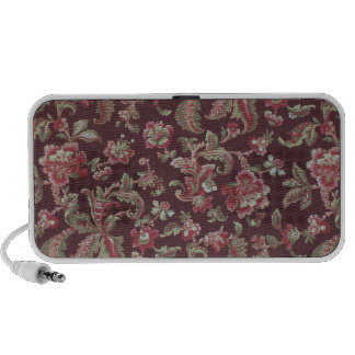 paisley floral travel speakers