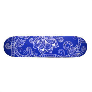 Paisley Flowers 4 Skateboard Decks