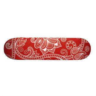 Paisley Flowers 5 Skate Board Decks