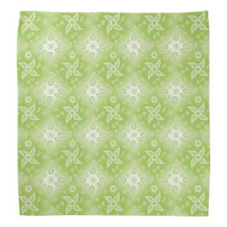 Paisley green summer pattern. bandana