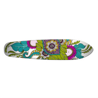 Paisley Henna Style Skateboard Deck