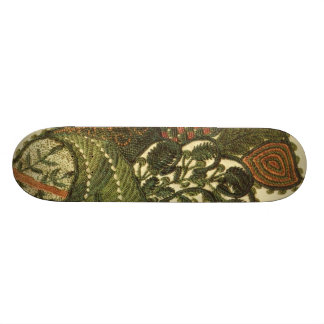 Paisley In Green 20 Cm Skateboard Deck
