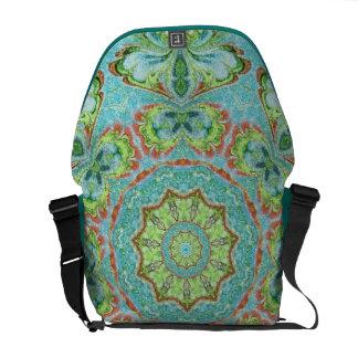 Paisley Mandala Abstact Messenger Bag